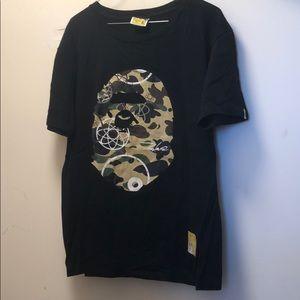 BAPE X Futura shirt / rare / used / size XL /